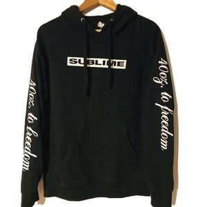 Other - Sublime 40oz To Freedom Mens Medium Hoodie Sweater